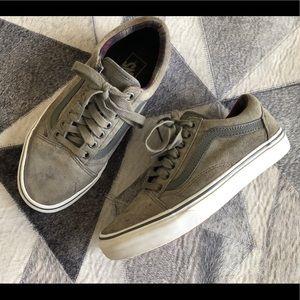VANS Old Skool MTE Suede Mono Grey Sneaker Skate 8